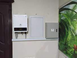 Net Metering Ongrid Hybrid Solar System with reverse Bahria & DHA