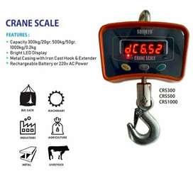 Timbangan gantung digital 300kg/500kg/1000kg(1Ton)
