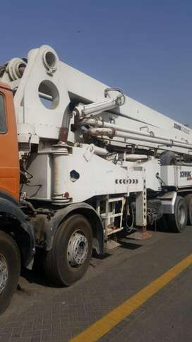 Concrete pump mobahil 22 meter to 55 meter for rant