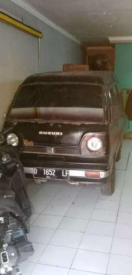 Carry Buek MB Hatcback 1986 Hitam Merah,,pajak off Aprul 2019