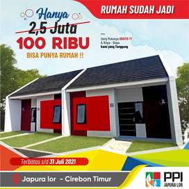 Rumah Subsidi DP 100 RIBU Tinggal 1 Unit