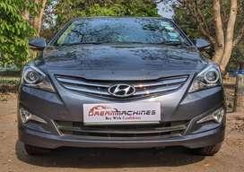 Hyundai Verna 2015-2016 1.6 VTVT S, 2015, Petrol