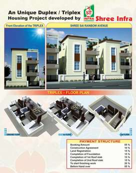 This Project is New lunch Duplex and Triplex project.