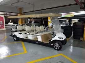 Golf car 8 seater