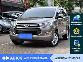 [OLXAutos] Toyota Kijang Innova 2016 2.4 G A/T Diesel Coklat #Allison