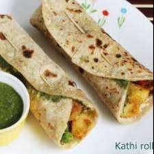 Chef of Kathi Rolls and veg biryani