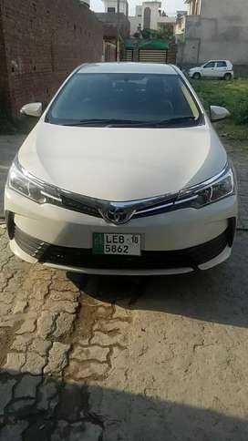 Toyota corrola xli on installments 2018 model manual