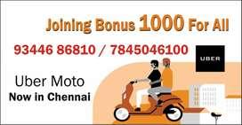 UBER MOTO Chennai - Wanted Bike Riders