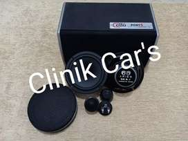 Audio mobil split aries & subwoofer cello port 5 ^_^
