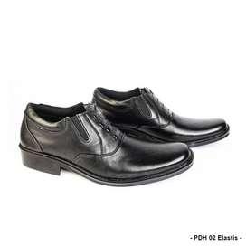 Sepatu Kerja Elastis dan Elegan 2020 Full Kulit Sapi Asli PDH 02