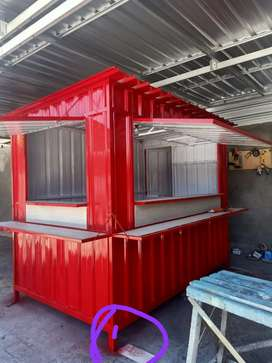 Container booth mini