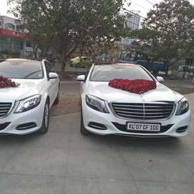 BENZ S Class for rental with driver for marriage