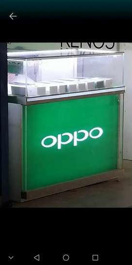OPPO mobile counter for sale.
