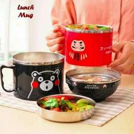 Lunch mug karakter