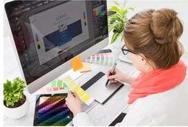 Graphic designer and grammatical error checking specialist.