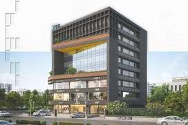 Office space on sale @500 mtrs from Akshar Chowk, Sunpharma Road.