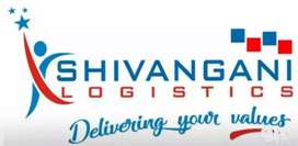 Parcel delivery boys for Shivangani Logistics at nazira