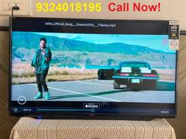 "Big SALE - New 40"" Smart full HD LED with Bluetooth And Voice Remote"