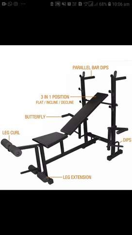 Gym New Banch manufacturing, all types of gym accessories create