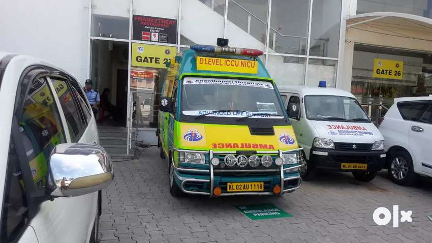 Icu ambulance  showroom conditions and service history available 0