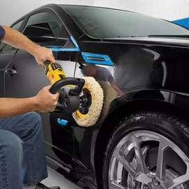 Wanted car waxing polishing washing persons