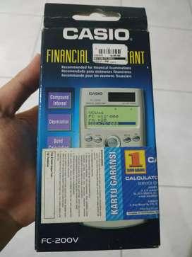 Kalkulator CASIO FC 200