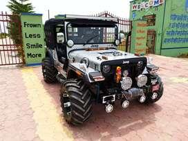 Open jeep fully modified Mahindra willy short body