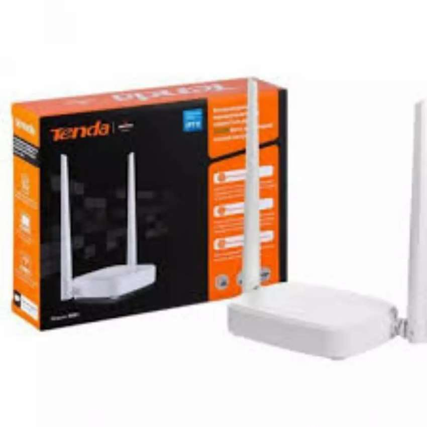Tenda N301 WiFi Router 300Mbps Speed Long Coverage 2 in 1 Wholesaler