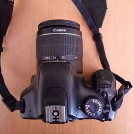 Canon EOS 550D with EF-S 18-55mm lens