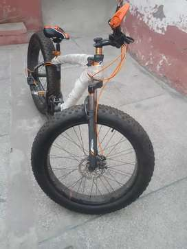 Aluminim Fat bicycle, Imported