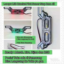 Lampu LED Bracket Pasang sendiri di rumah pembeli