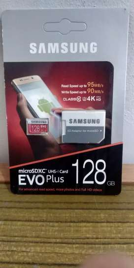 SD CARD SAMSUNG 128GB