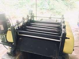 Automatic Rubber Sheeting Machine
