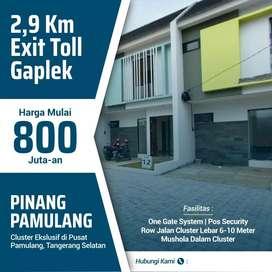 Rumah di Pamulang - Tangerang Selatan