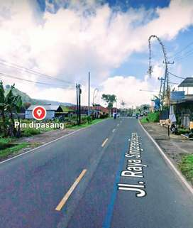 Tanah murah jalan utama raya bedugul denpasar singaraja buc