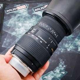 Sigma 70 300mm F4-5.6 DG Macro for Nikon. murah