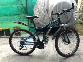Morgan MTB cycle, 1 month used only!