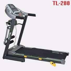 TL-288 Electric Treadmill 2hp + Mass Manual Incline Fitness Olahraga