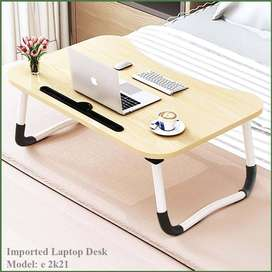Laptop Table eDesk,  Wooden Table, What do you want to do today?
