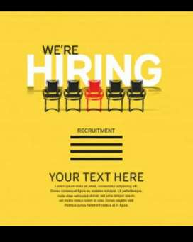 Part Time Working Staff Required