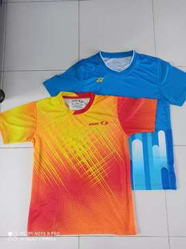2 baju badminton,