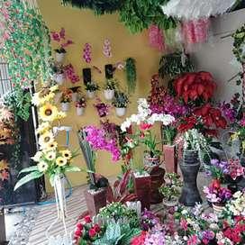 Jual bunga mawar rambat tanaman daun bunga rambat imitasi plastik ...