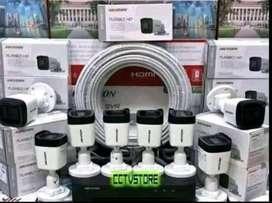 Ready Paket CCTV Hikvision 2MP/4MP/5MP Wilayah Bekasi