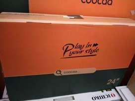 "Jual tv coocaa 24"" baru LED garansi resmi"