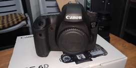 Canon 6D camera with full box
