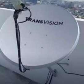 Paket murah meriah Transvision resmi T Samosir nonton puas  harga pas