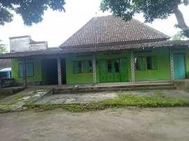 Jual tanah plus rumah
