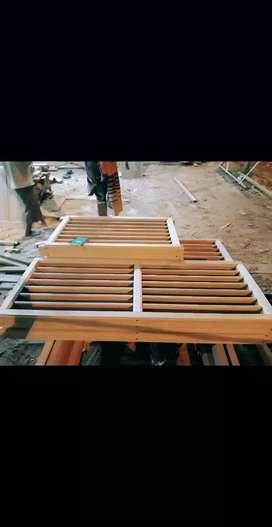 Kusen kayu bengkirai termurah se pontianak asli kayu bengkirai
