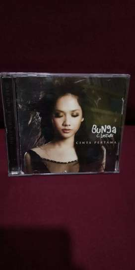 CD ALBUM MUSIC ORIGINAL BUNGA CITRA LESTARI CINTA PERTAMA SUNY