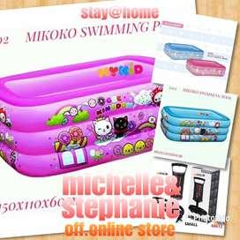 M&S OUTDOORMYKIDS12 - 2020 Kolam Renang Tiup Kotak MIKOKO GEE KINGDOM